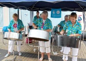 Big Lottery Funded steel band