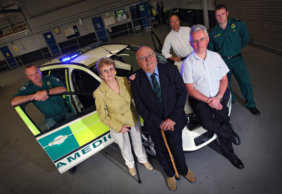 The Vale of Glamorgan Ambulance Service First Responder Scheme received nearly £5,000 through our Awards for All Programme to buy new equipment.
