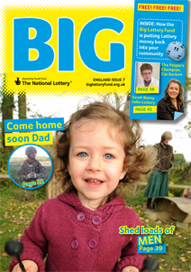 Picture of the BIG Magazine England cover