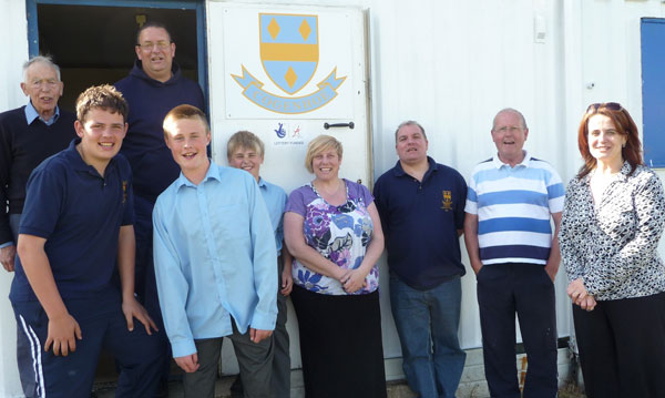 Some members of Cogenhoe Cricket Club