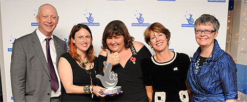 Include Duchenne - winners at the National Lottery Awards