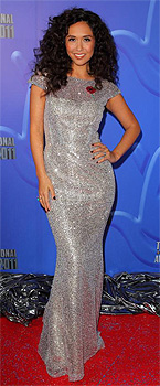 Myleene Klass at the National Lottery Awards