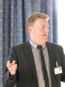 BIG's Jonathan Clark speaks at Funding East