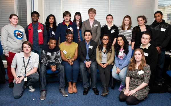 The team of young people working with BIG to develop the investment