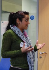 Jashmin, 23, shares her evidence