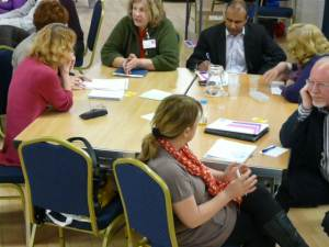 Delegates come together to network and share learning
