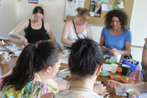 'On the Make' sessions teach women to create craft items from recycled materials