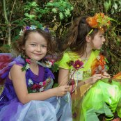 Some 'fairies' enjoying the event