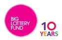 #BigLottery10 logo