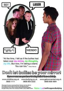 Beat bullying poster