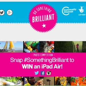 Image of Snap #SomethingBrilliant poster