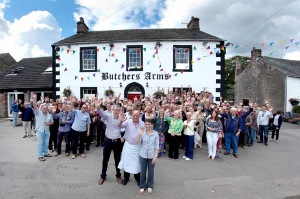 Lyvennet Community Pub - Butchers Arms celebration