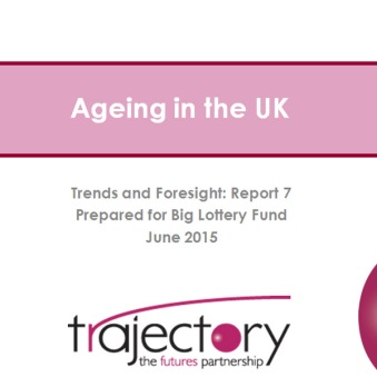 Ageing in the UK report front cover